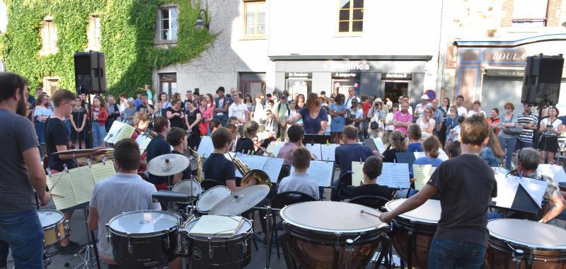 Ecole de musique et de danse : inscriptions & ré-inscriptions 2021-2022