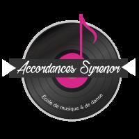 Logo de l'école de musique et de danse Accordances-Syrenor
